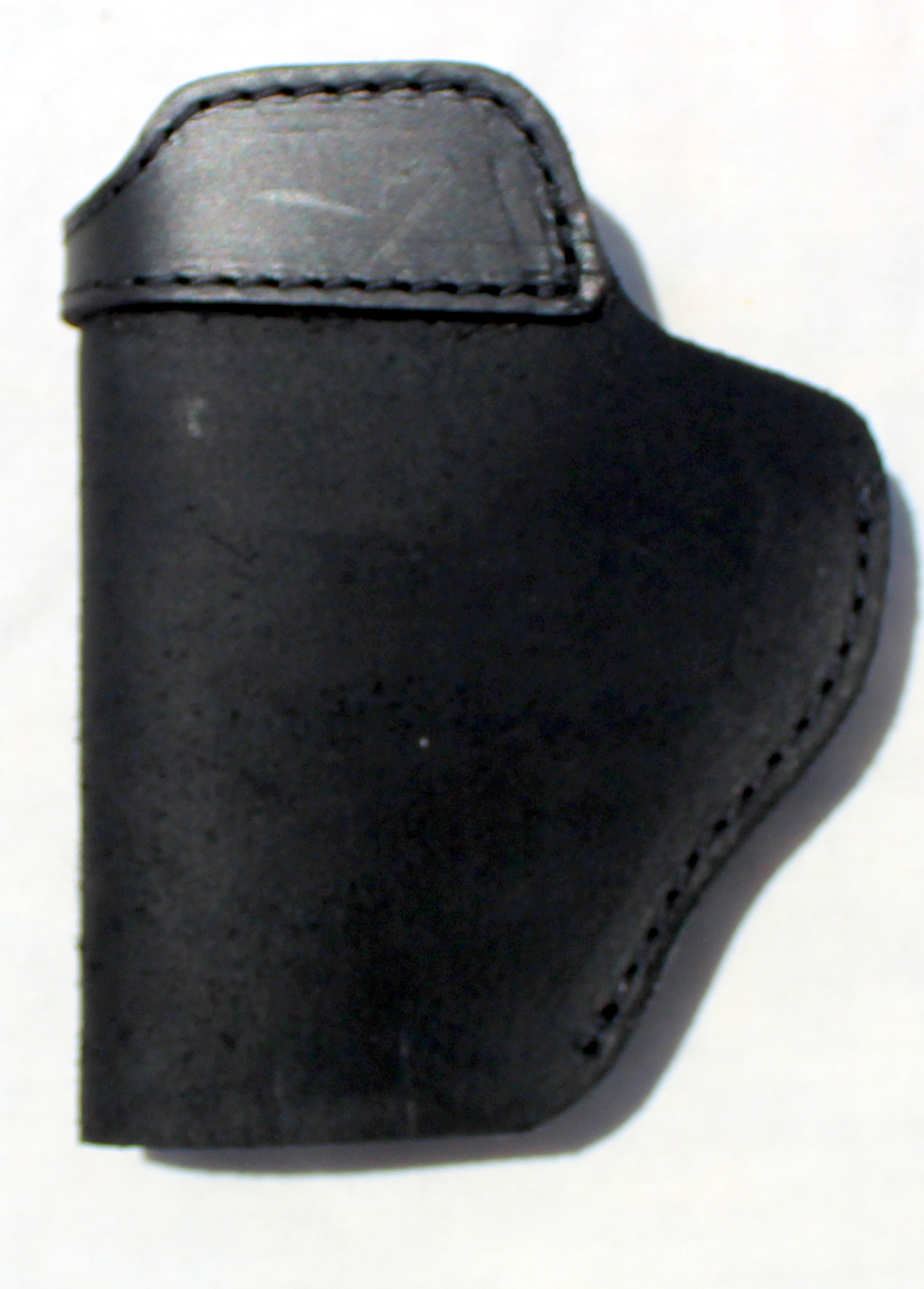 The Ultimate Suede Gun Holster - BLACK Suede Clip Holster Fits Glock / XD Style Handguns