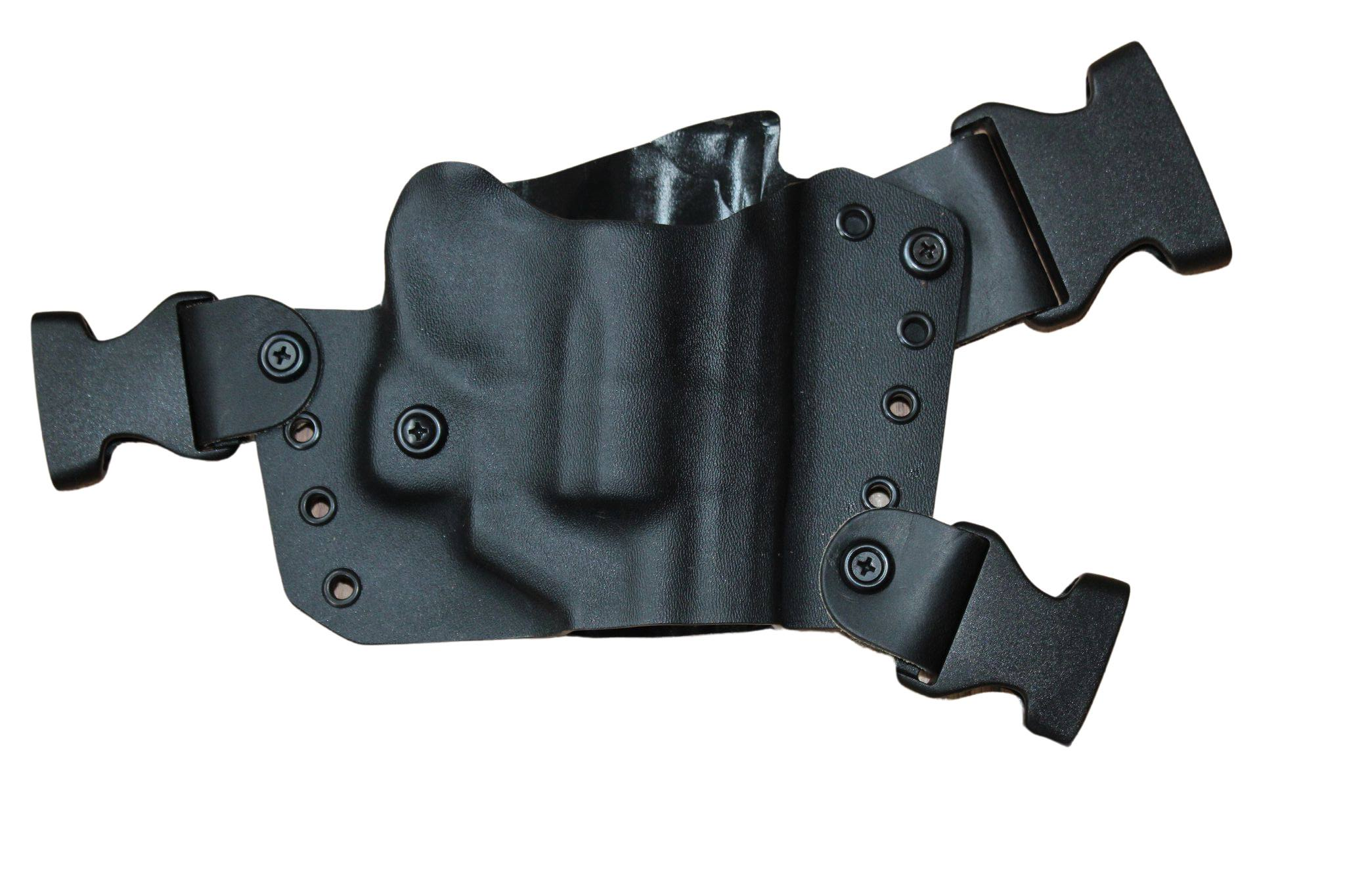 Kydex Chest Holster with Black Straps for JUDGE