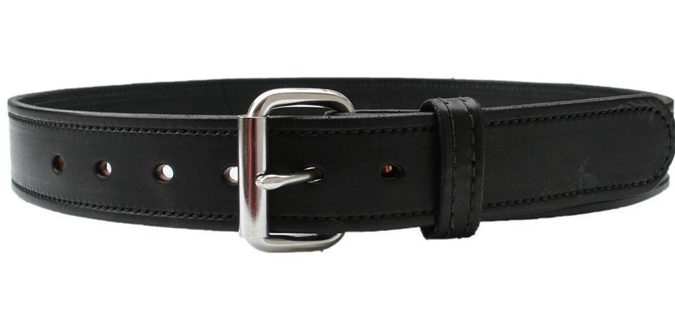 1 1 2 quot bull hide steel stitched heavy weight leather