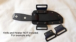 Details about  Heavy Duty 0.93 Kydex Holster Belt Loop Wings, Black OWB Fits 1.5