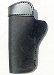 The Ultimate Suede Gun Holster - BLACK Suede Clip Holster Fits 1911 Handguns
